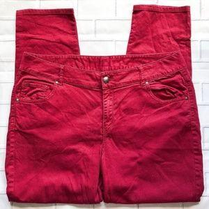 Lane Bryant high waist skinny jean